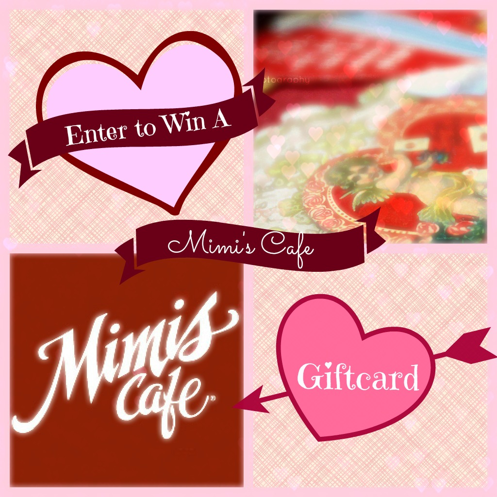 Mimi's Cafe Giftcard Giveaway