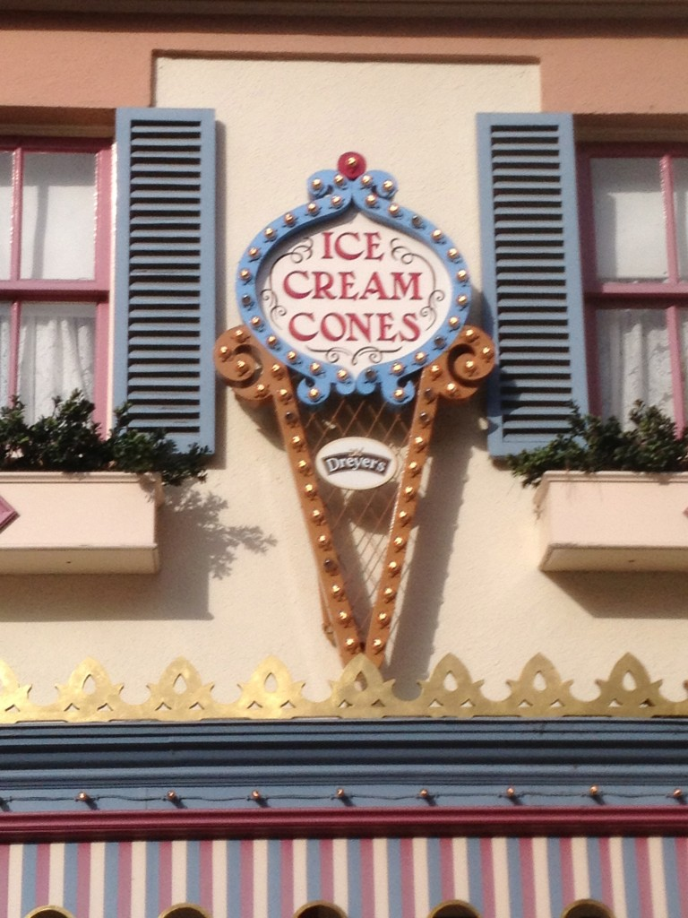 Disney Ice Cream Cones