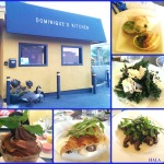 Happy 1st Anniversary Dominique's Kitchen! Special Escargots Menu to Celebrate!