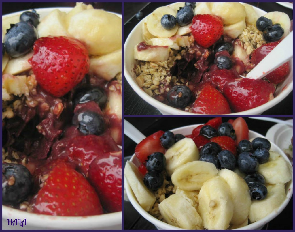 Jans Health Bar Acai Bowl