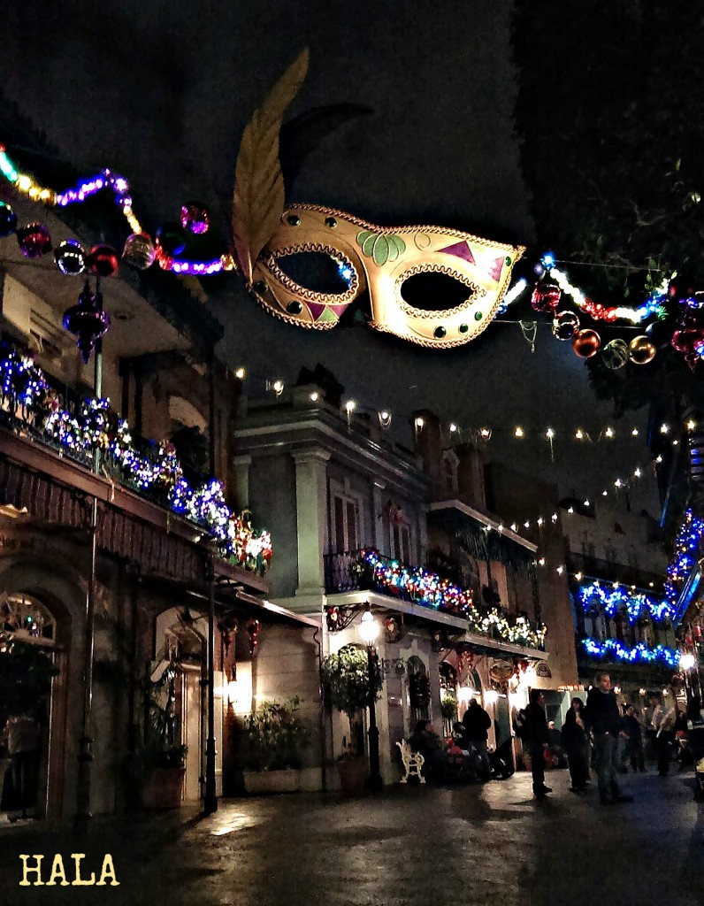 Disney At Night New Orleans Square