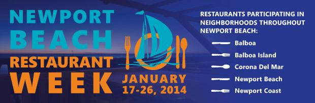 Newport Beach Restaurant Week