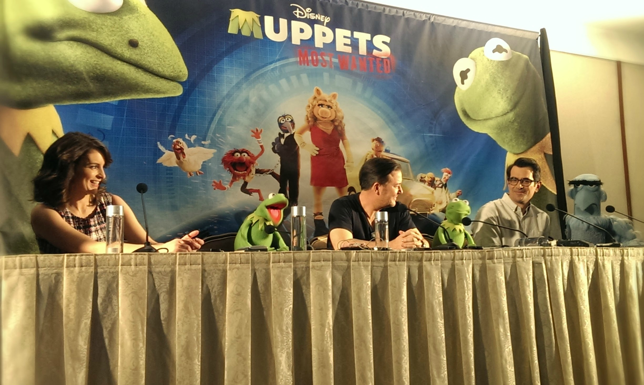 Muppets Most Wanted Talent