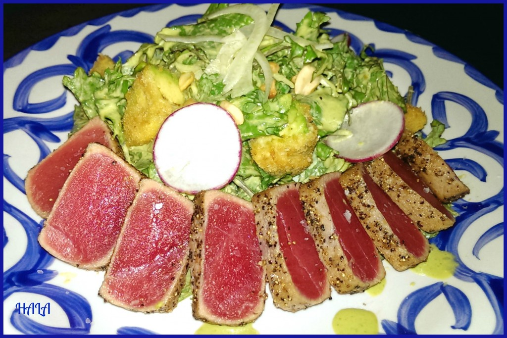 WSL Seared Tuna Salad