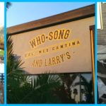 Good Eats at Who Song & Larry's in the OC @WSLCantina