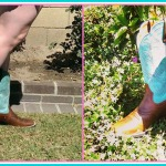 Summertime Chic with Cowgirl Boots & Dresses @CountryOutfittr @Ariat