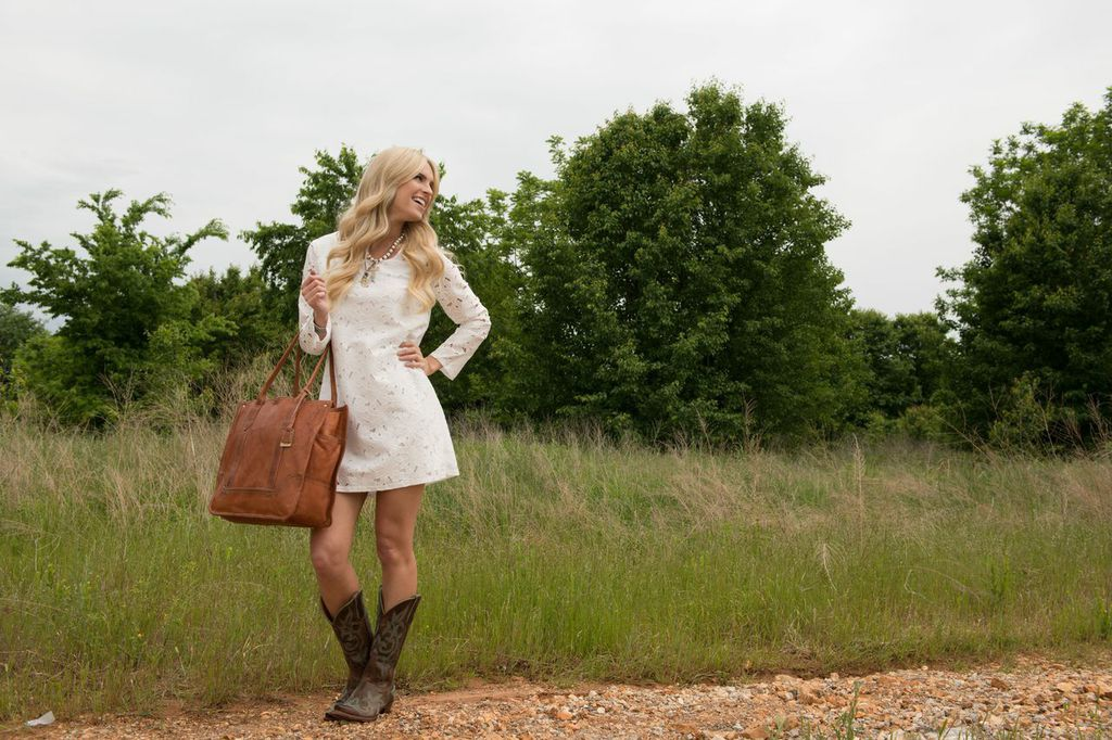 Country Outfitter White Dress