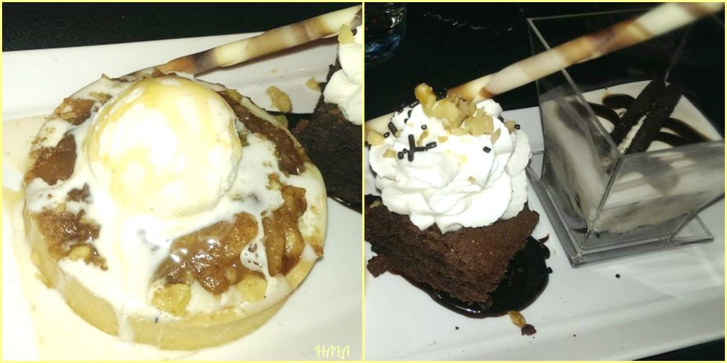 Hard Rock Cafe Desserts