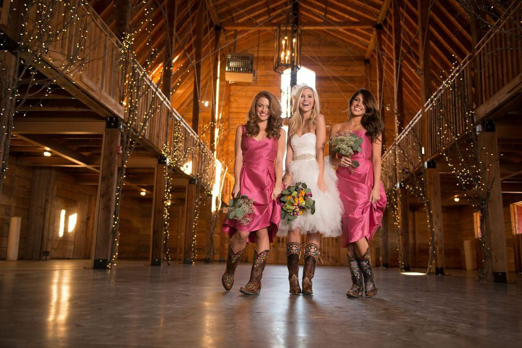 Wedding Dresses and Boots