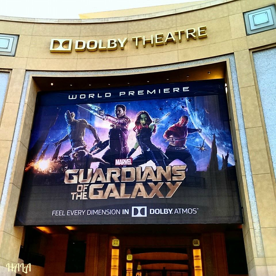 Dolby Theater Guardians of the Galaxy