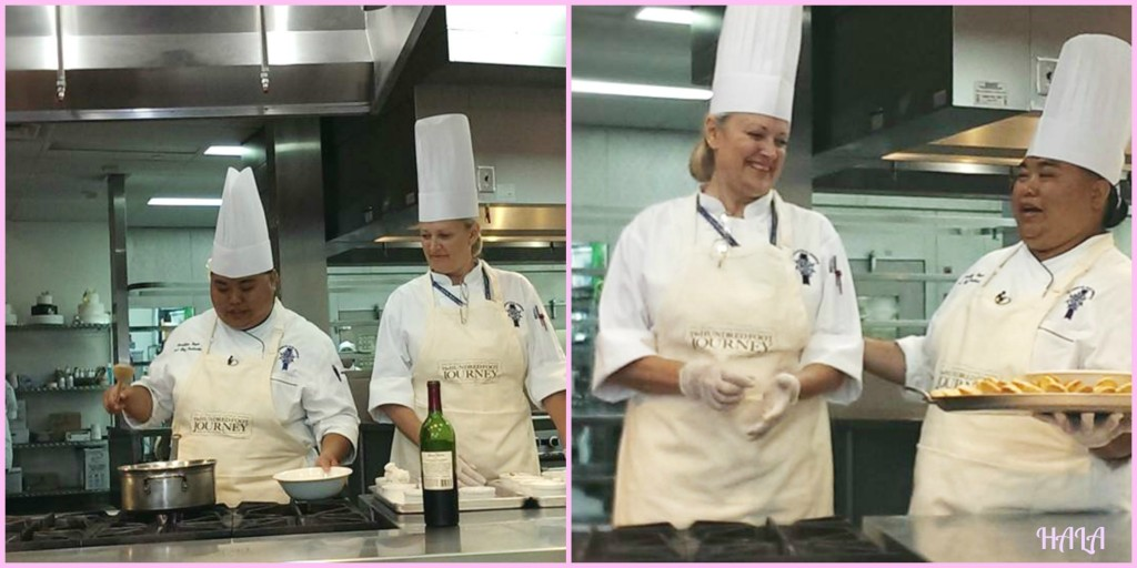 Le Cordon Bleu LA Cooking Demo
