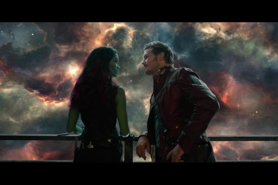 Gamora and Star Lord