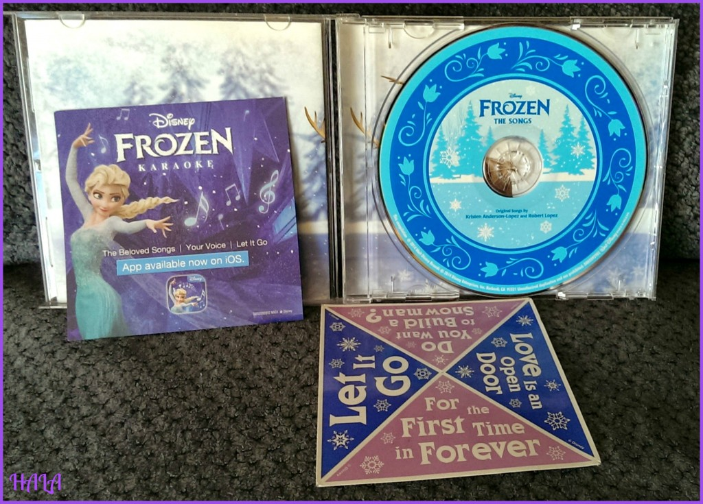 Frozen CDs
