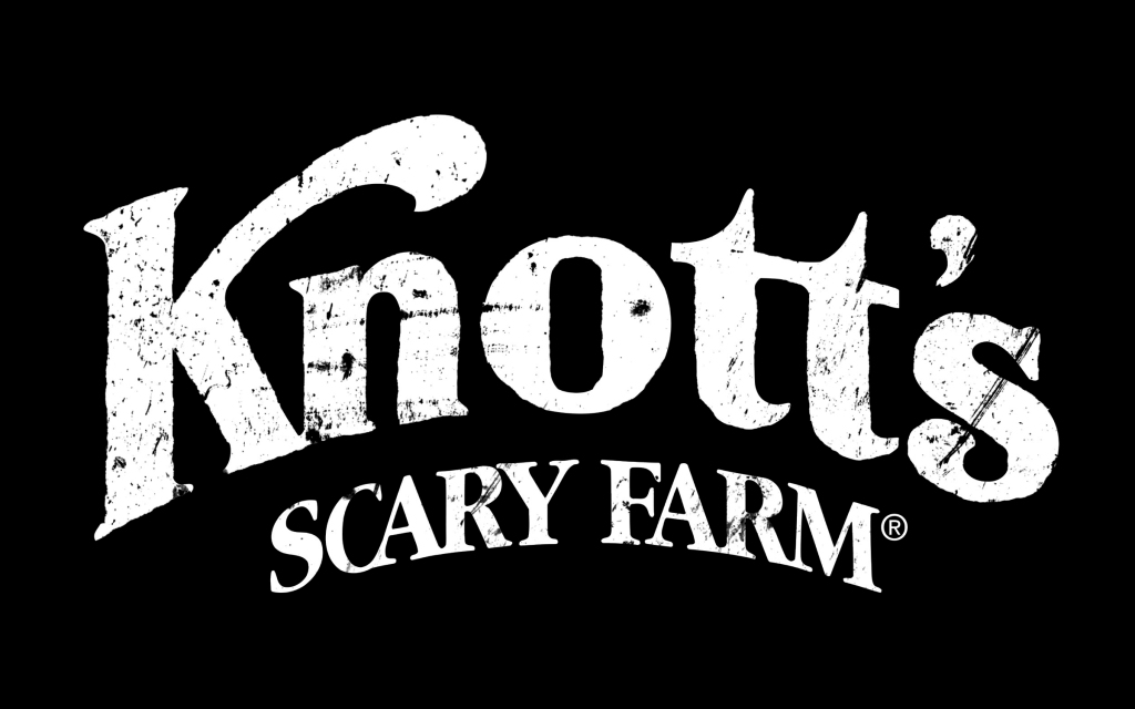 Knott's Scary Farm Logo  White