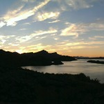 Wordless Wednesday: Summer Sunsets in Lake Havasu