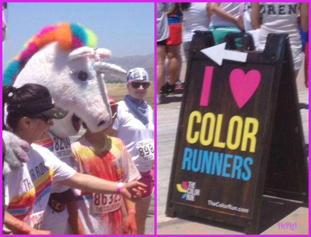 I Love Color Runners