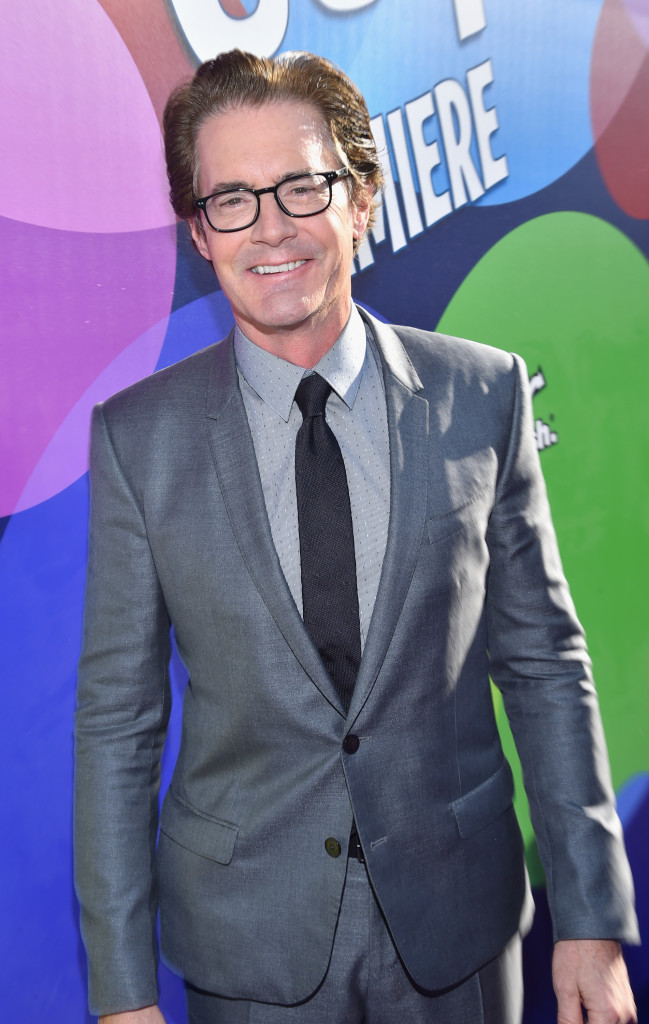 HOLLYWOOD, CA - JUNE 08: Actor Kyle MacLachlan attends the Los Angeles Premiere and Party for Disney?Pixar?s INSIDE OUT at El Capitan Theatre on June 8, 2015 in Hollywood, California.  (Photo by Alberto E. Rodriguez/Getty Images for Disney) *** Local Caption *** Kyle MacLachlan