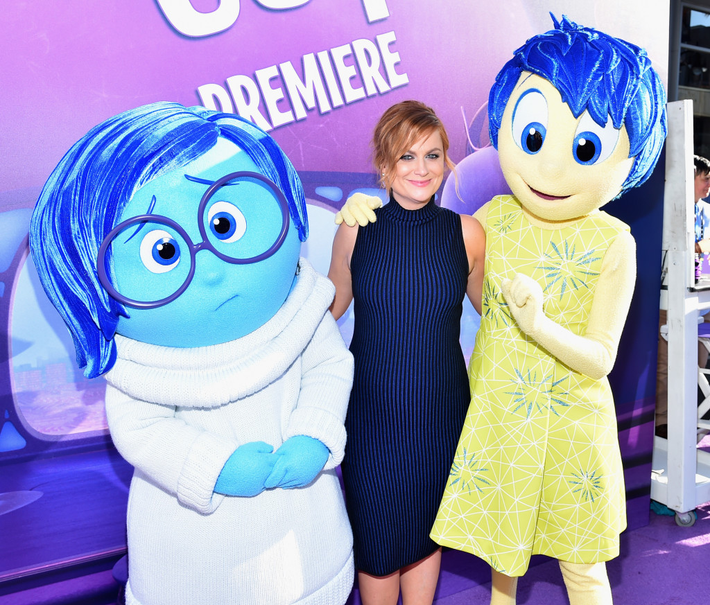 HOLLYWOOD, CA - JUNE 08:  Actress Amy Poehler attends the Los Angeles Premiere and Party for Disney?Pixar?s INSIDE OUT at El Capitan Theatre on June 8, 2015 in Hollywood, California.  (Photo by Alberto E. Rodriguez/Getty Images for Disney) *** Local Caption *** Amy Poehler