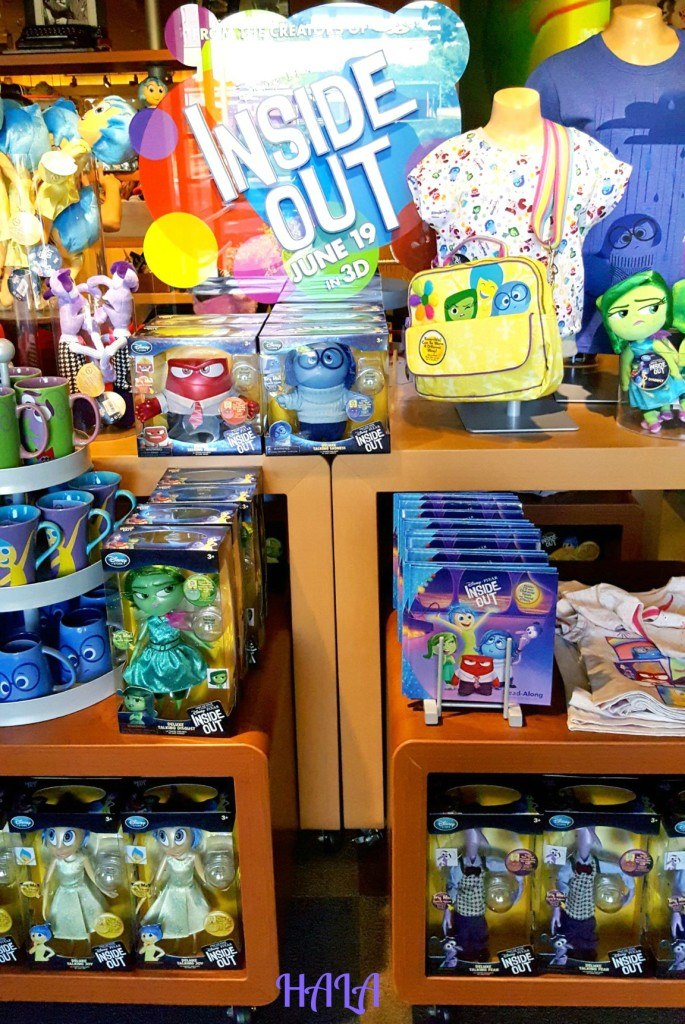 Inside Out Disney Store