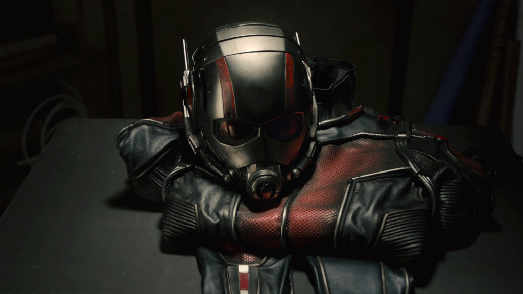 Marvel's Ant-Man Ant-Man suit Photo Credit: Film Frame © Marvel 2015