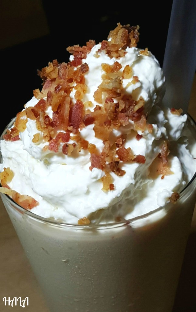 Cookie Butter Shake 'N' Bacon