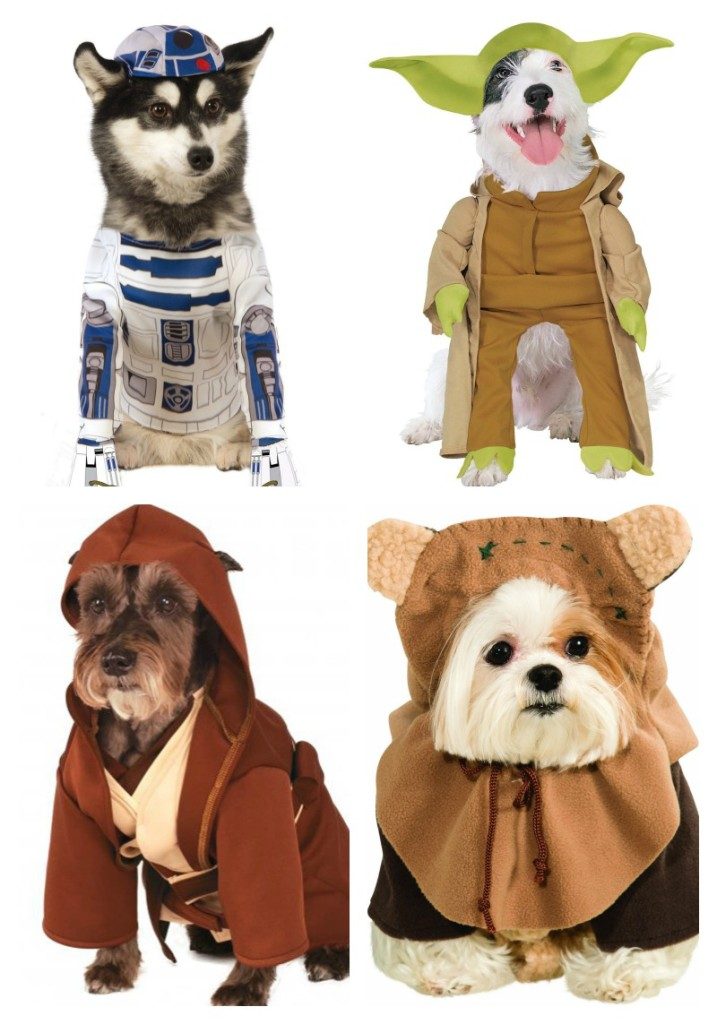 Star Wars Halloween Pet Costumes