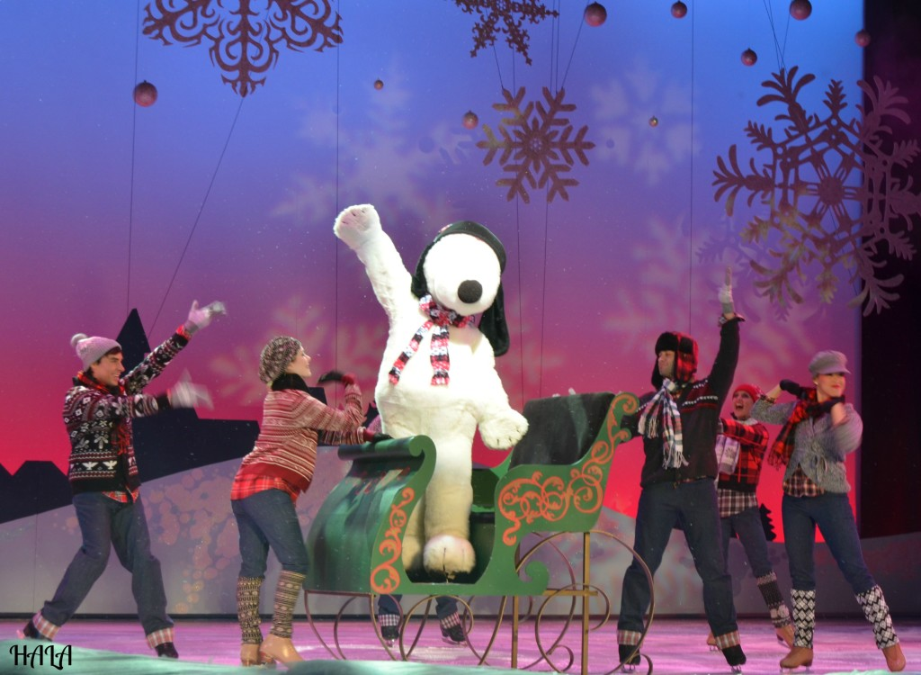 Merry-Farm-Merry-Christmas-Snoopy-Ice-Skating-Show-Buena-Park-Lakewood-Orange-County