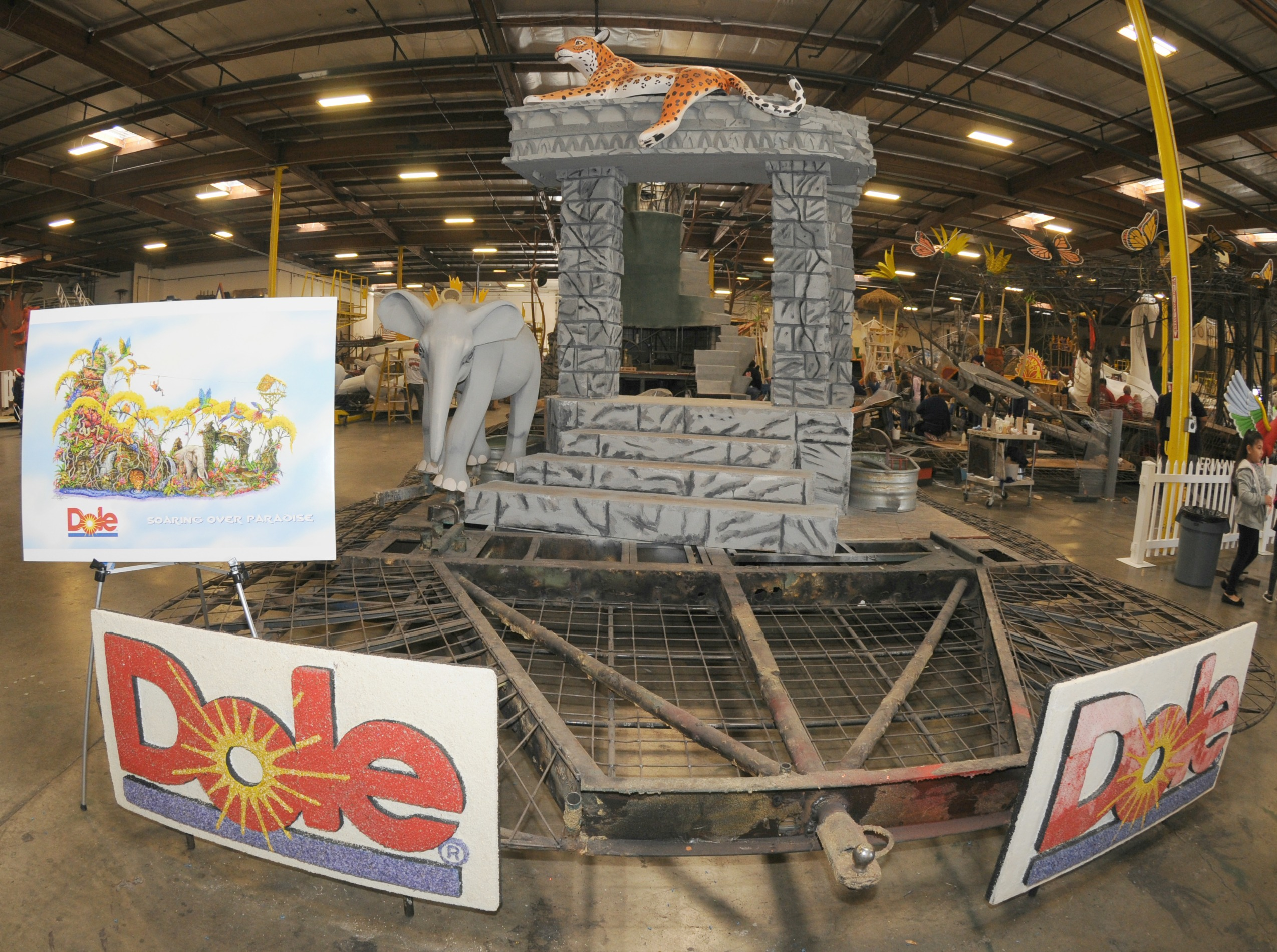Dole Rose Parade Float Concept