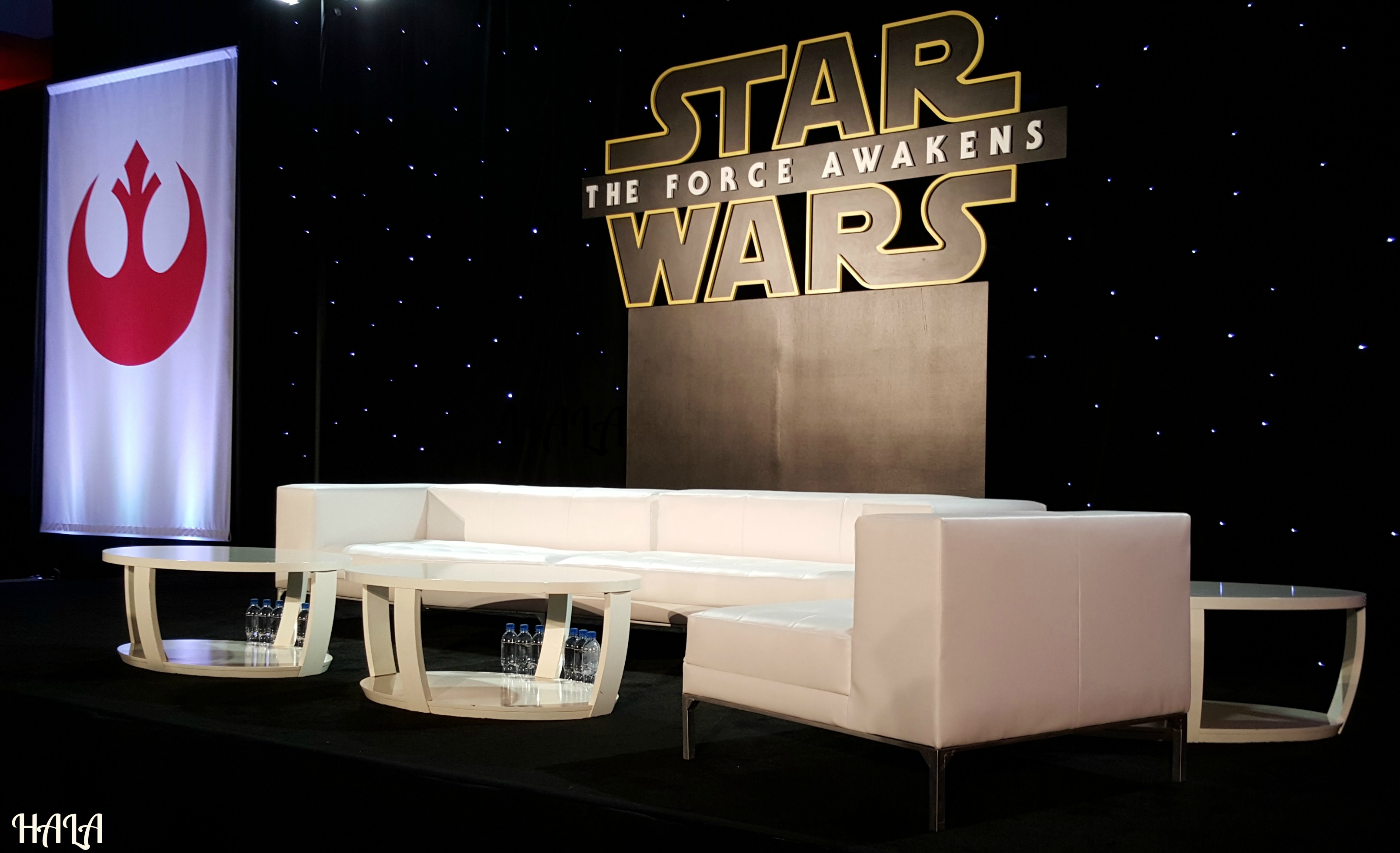Star Wars Press Junket