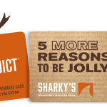 Sharky's Where You Can Feel Good About Eating & Gifting! $25 Giftcard Giveaway!