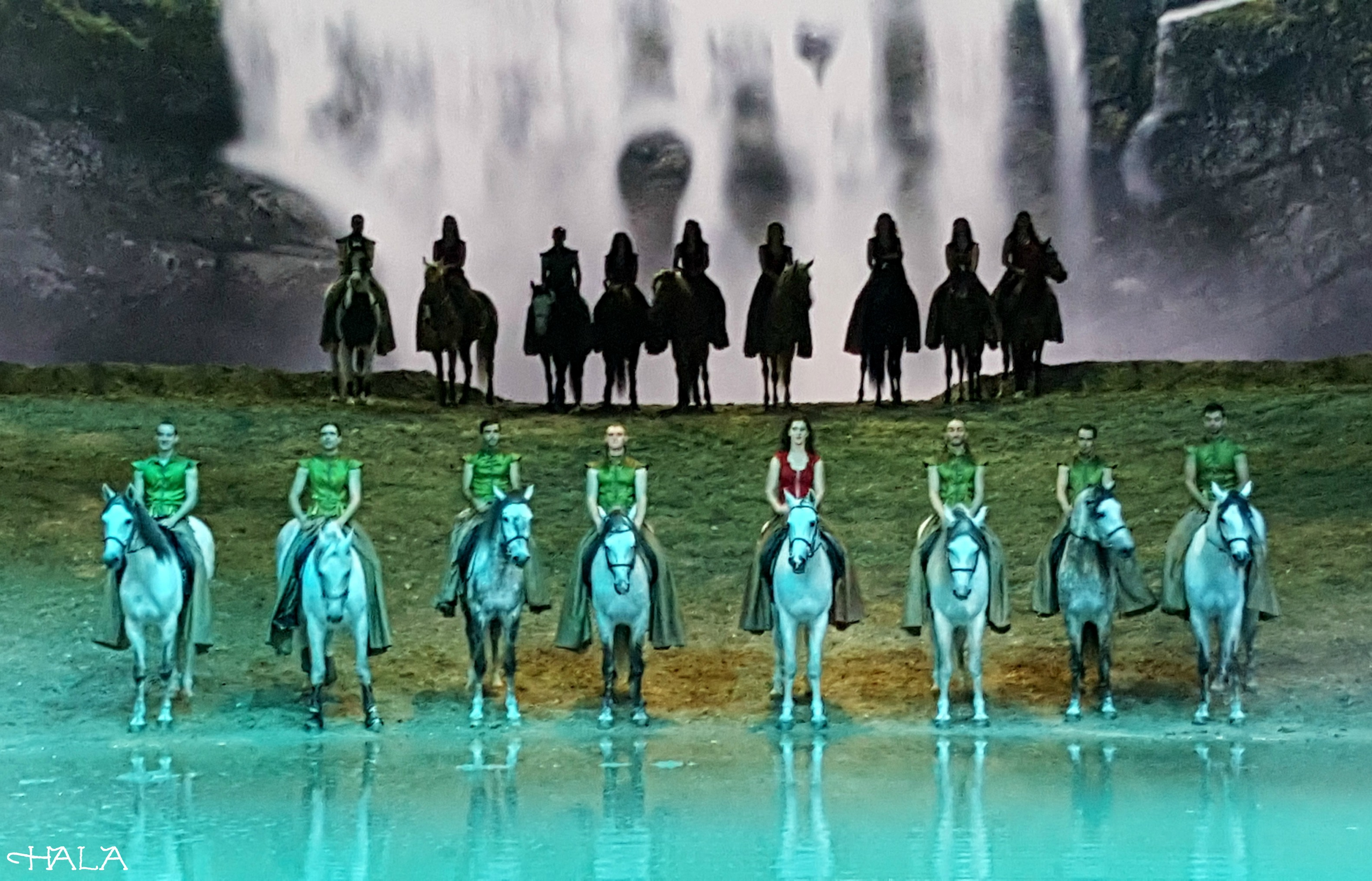 Odysseo Water Horses