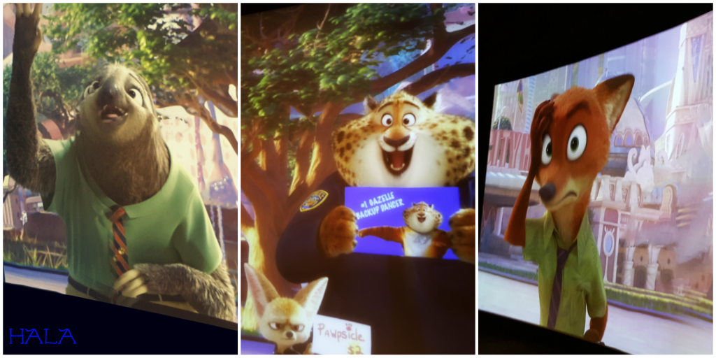 Dolby Cinema AMC Prime Zootopia Interactive Video Wall