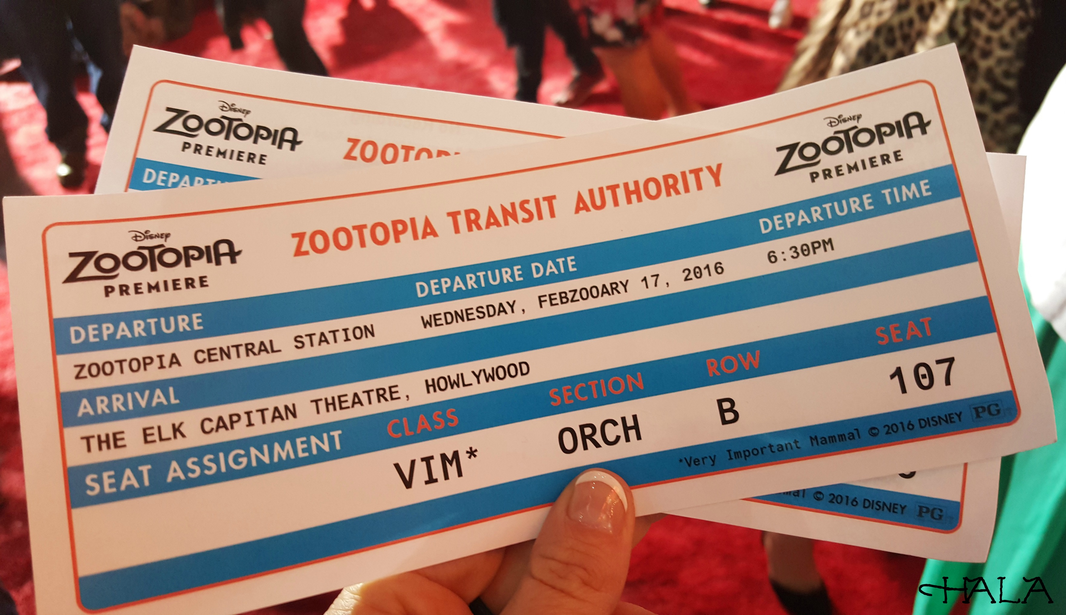 Zootopia Tickets
