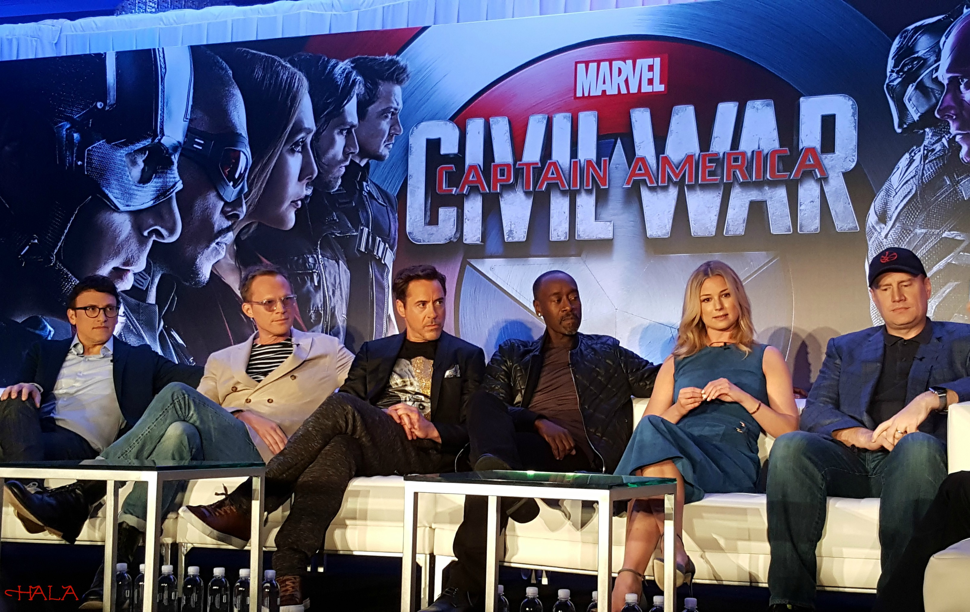 Captain America-Press Conference