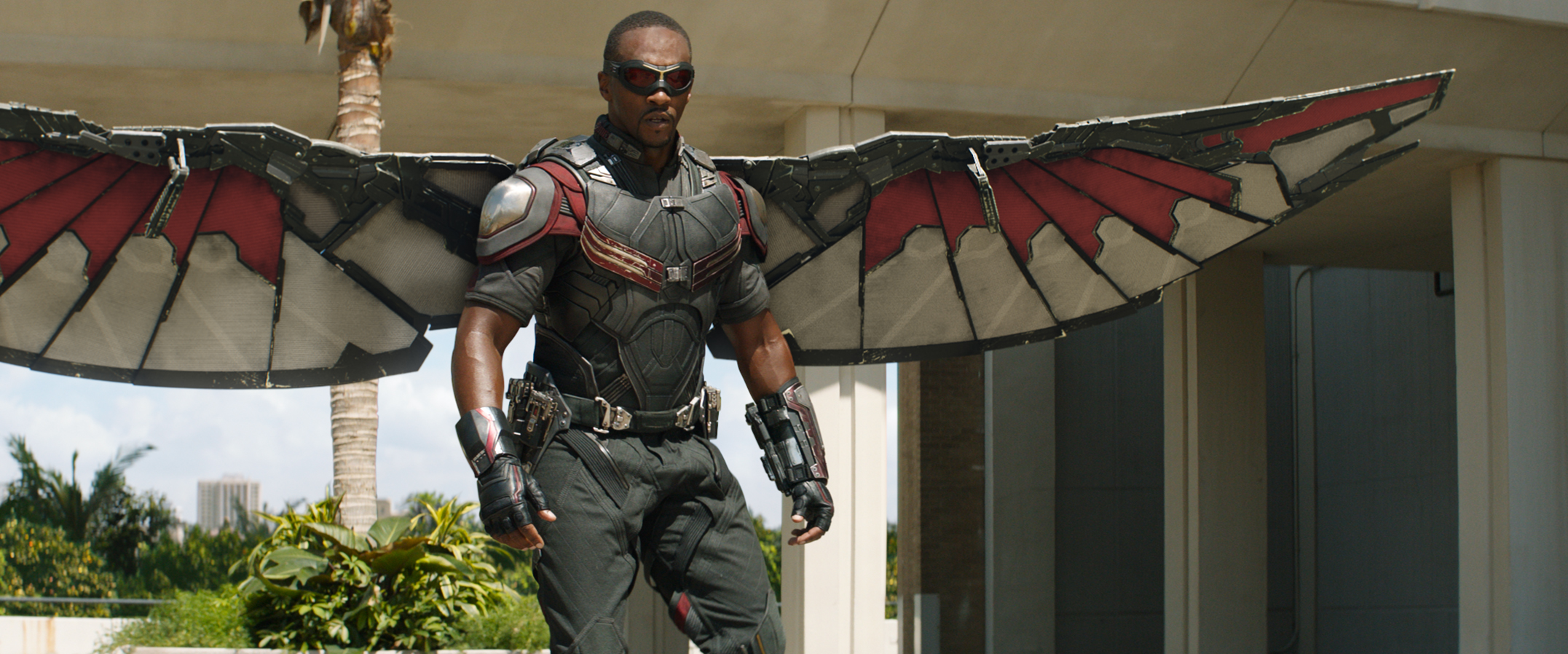 Marvel's Captain America: Civil War..Falcon/Sam Wilson (Anthony Mackie)..Photo Credit: Film Frame..© Marvel 2016