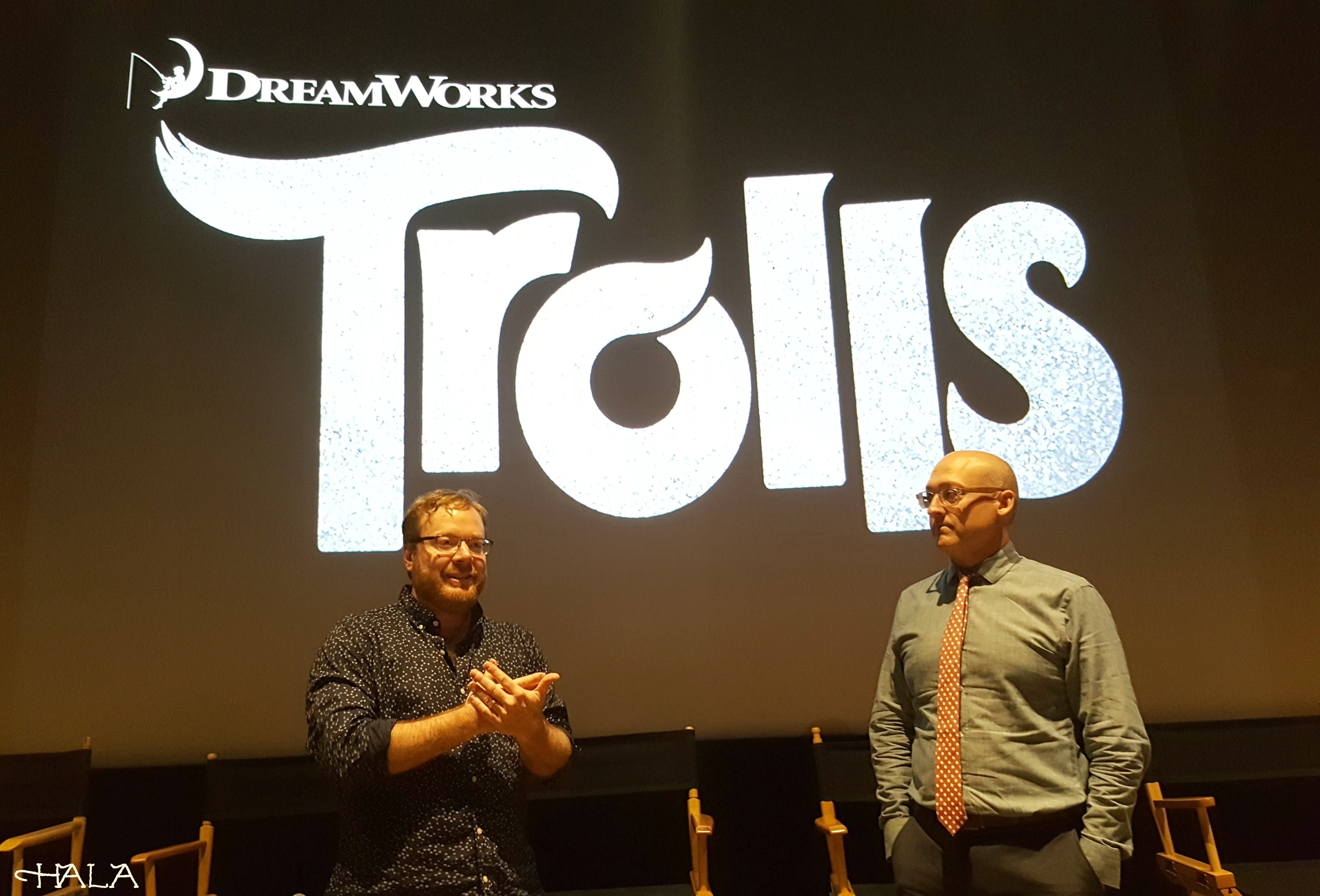 Dreamworks Trolls-Press-Junket