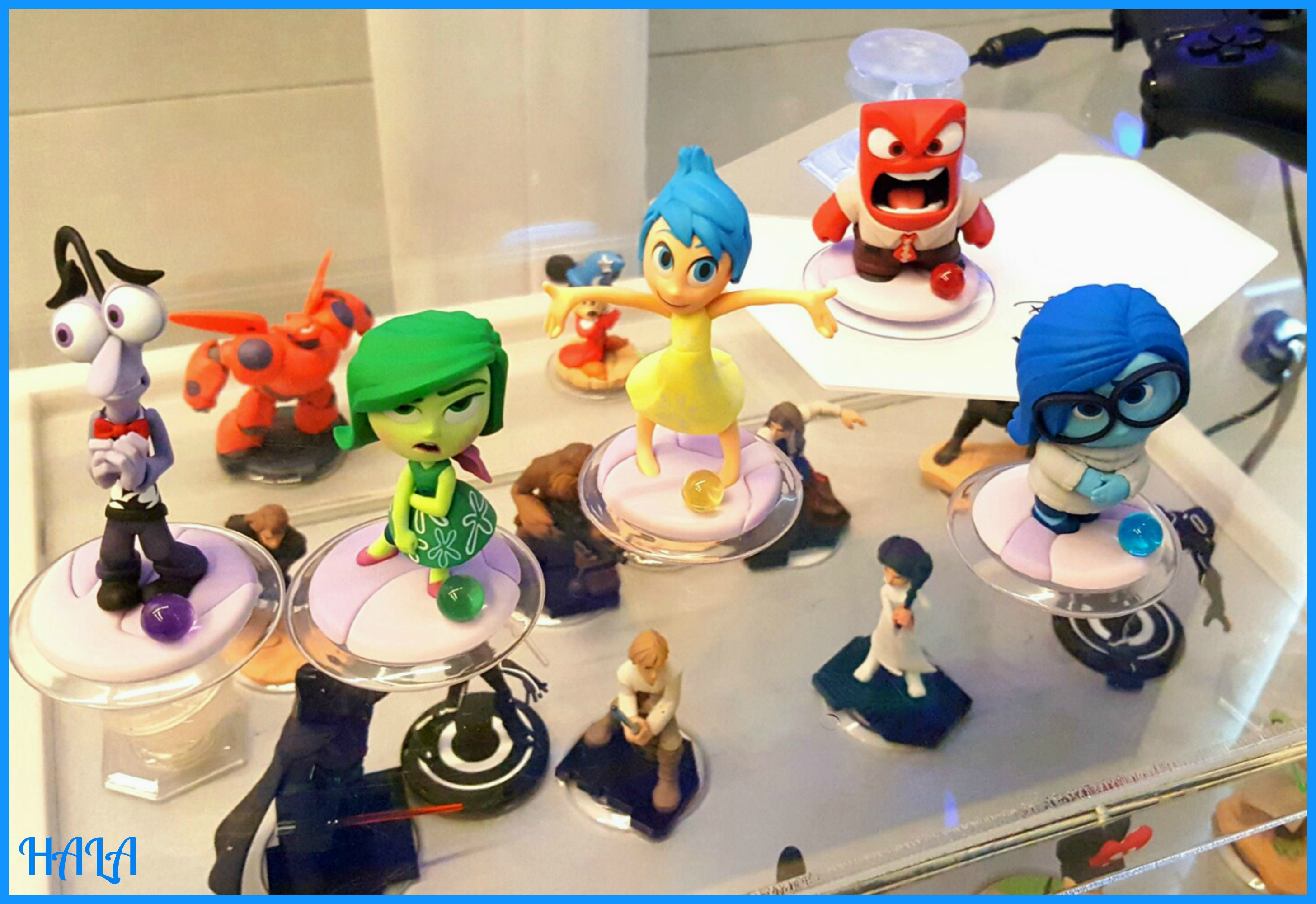 A Frist Look At Disney Infinity 3 0 And The Inside Out Play Set Insideoutevent